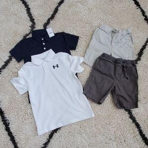 Lot of 4 Crewcuts boys clothes